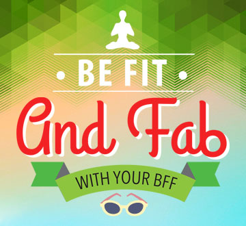Be Fit and Fab this March