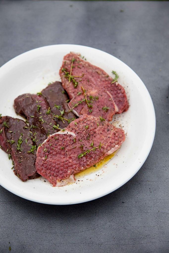 Venison steaks from Margaret River Venison