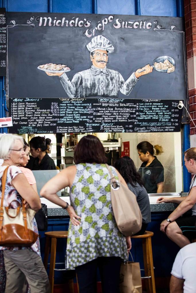 Michele's Crepe Suzette,  Markets, Perth