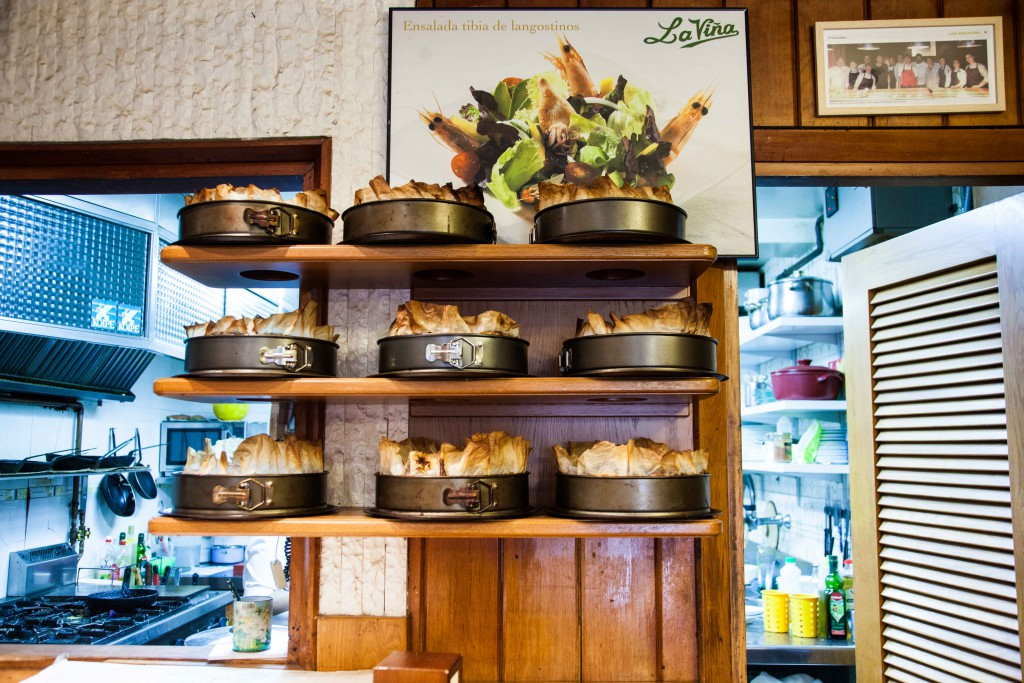 Wall filled with Tarte de Queso