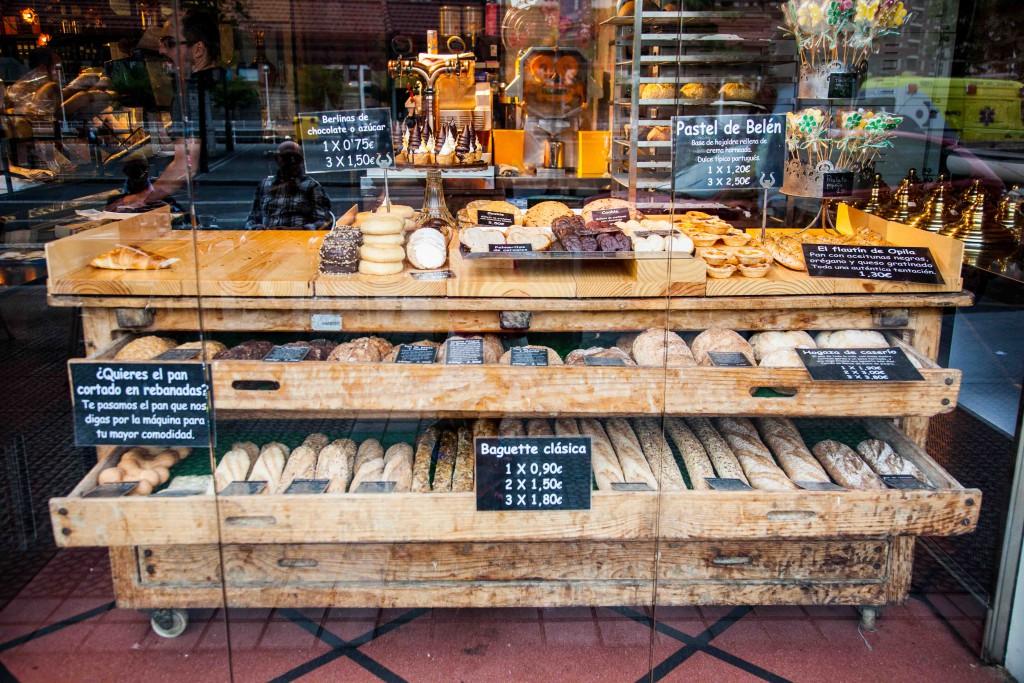 Bakery in Bilbao