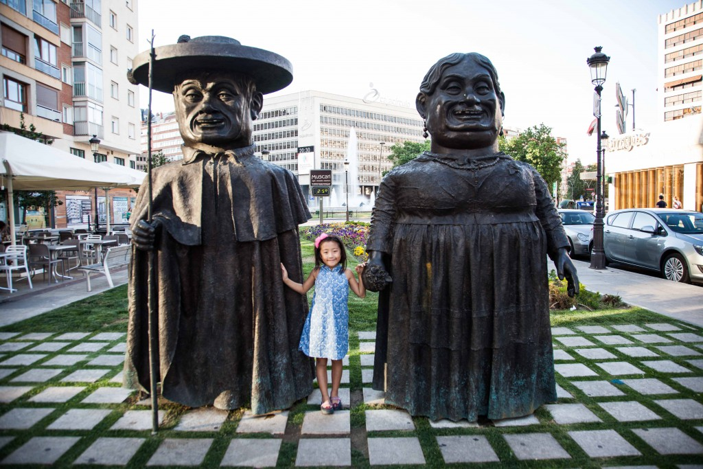 Zaftig statues