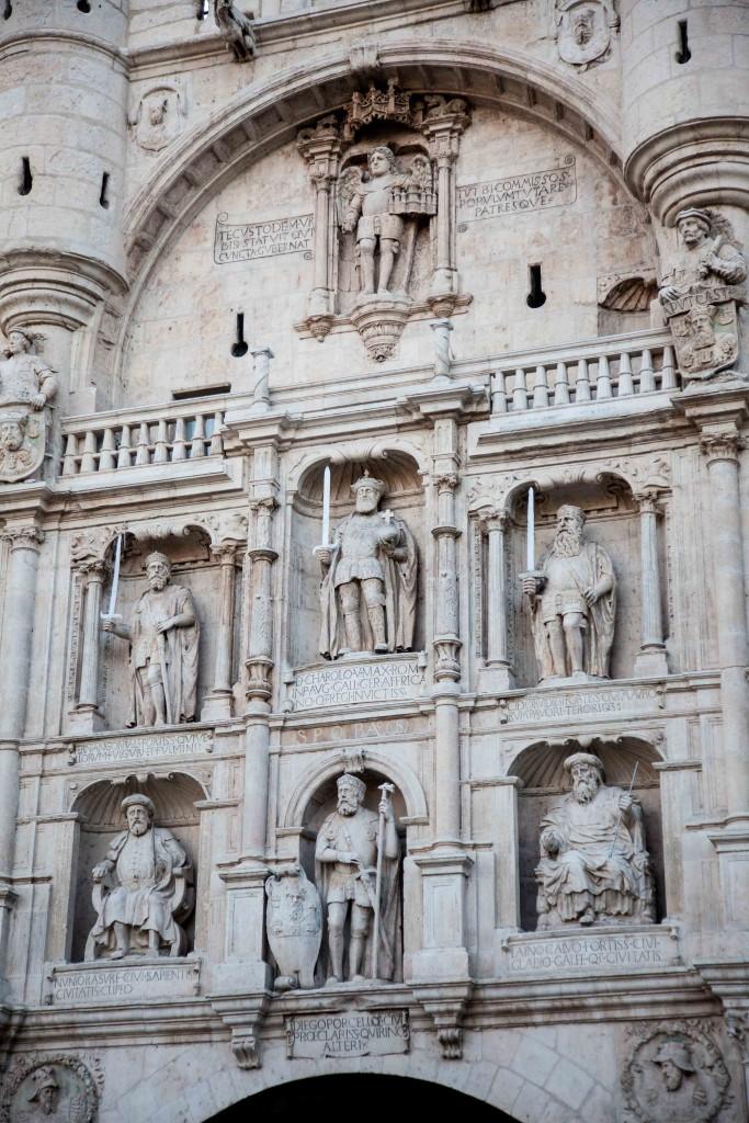 Arco de Santa María, the medieval entrance at the city was built in the 14th century.