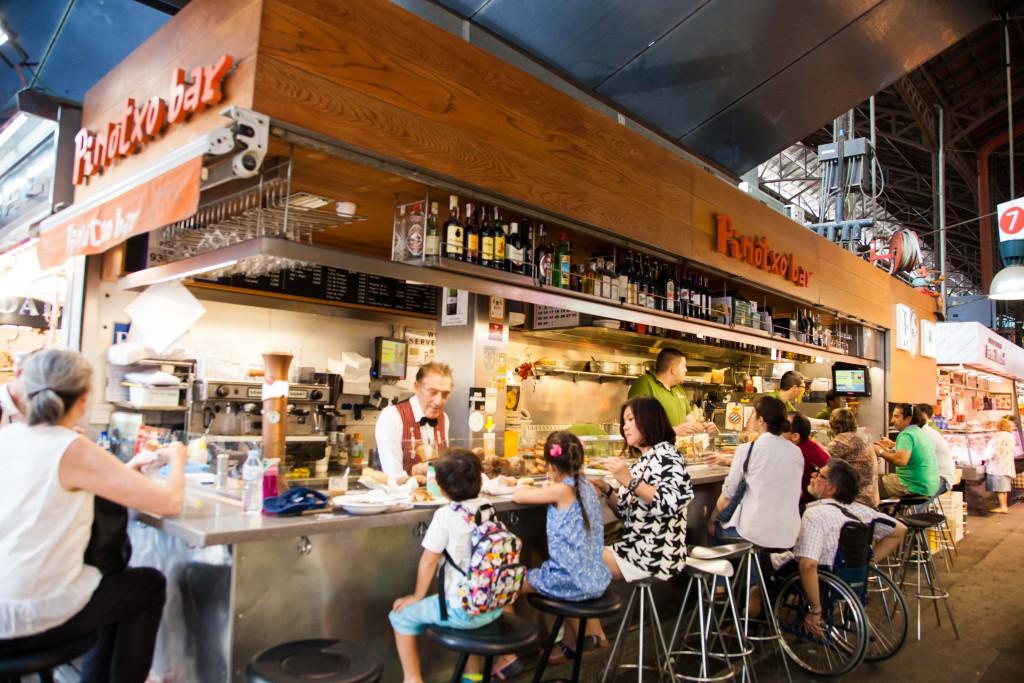 Bar Pinotxo at La Boqueria market