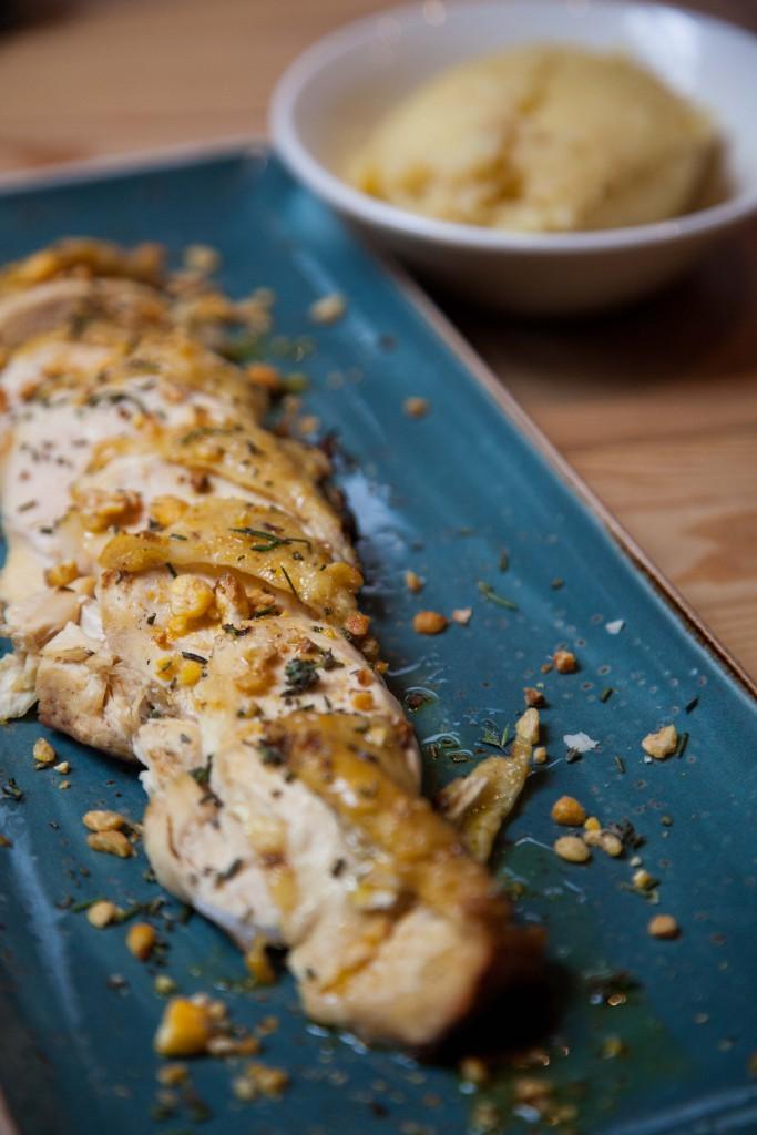 Roasted chicken Mediteranean style