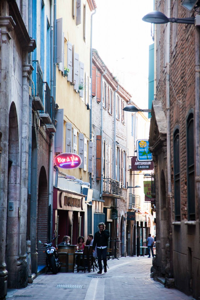 Alleyway in Perpignan