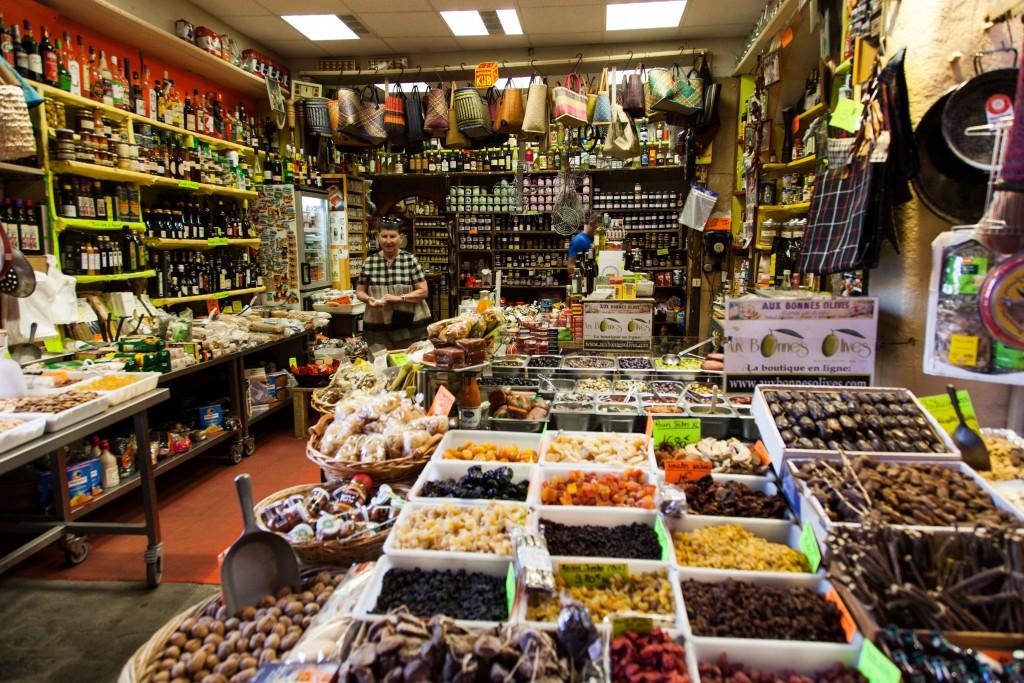 General store in Perpignan