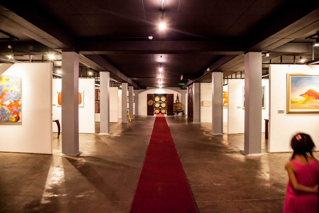 Art gallery at Leeuwin Estate