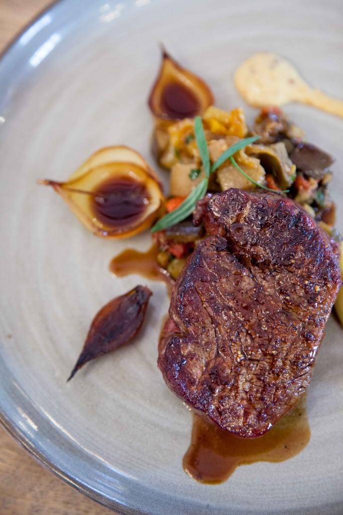 Beef fillet medium at Voyager Estate