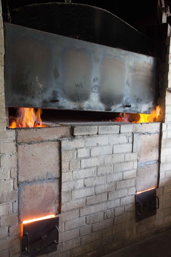 Woodfire oven, Yallingup Woodfire Bakery