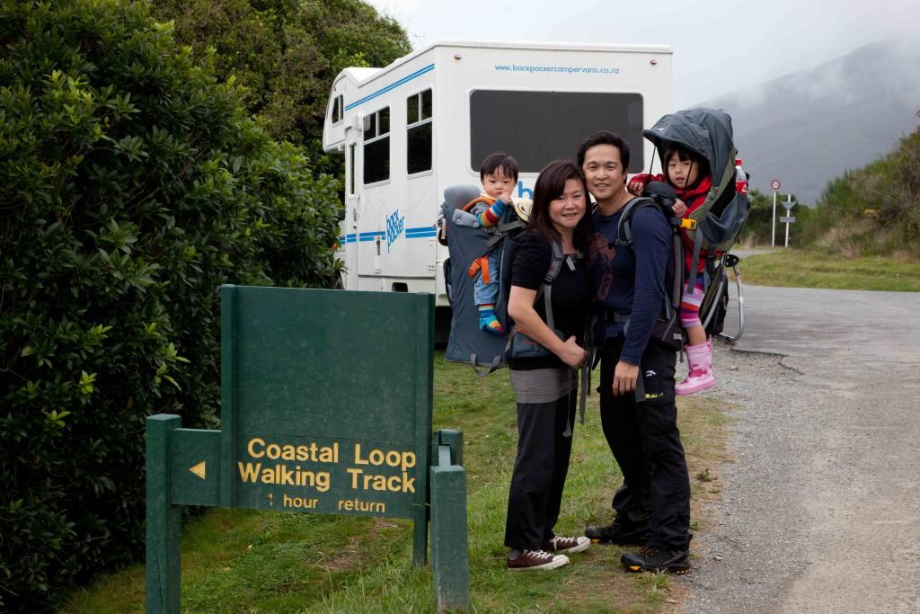 campervan NZ with kids