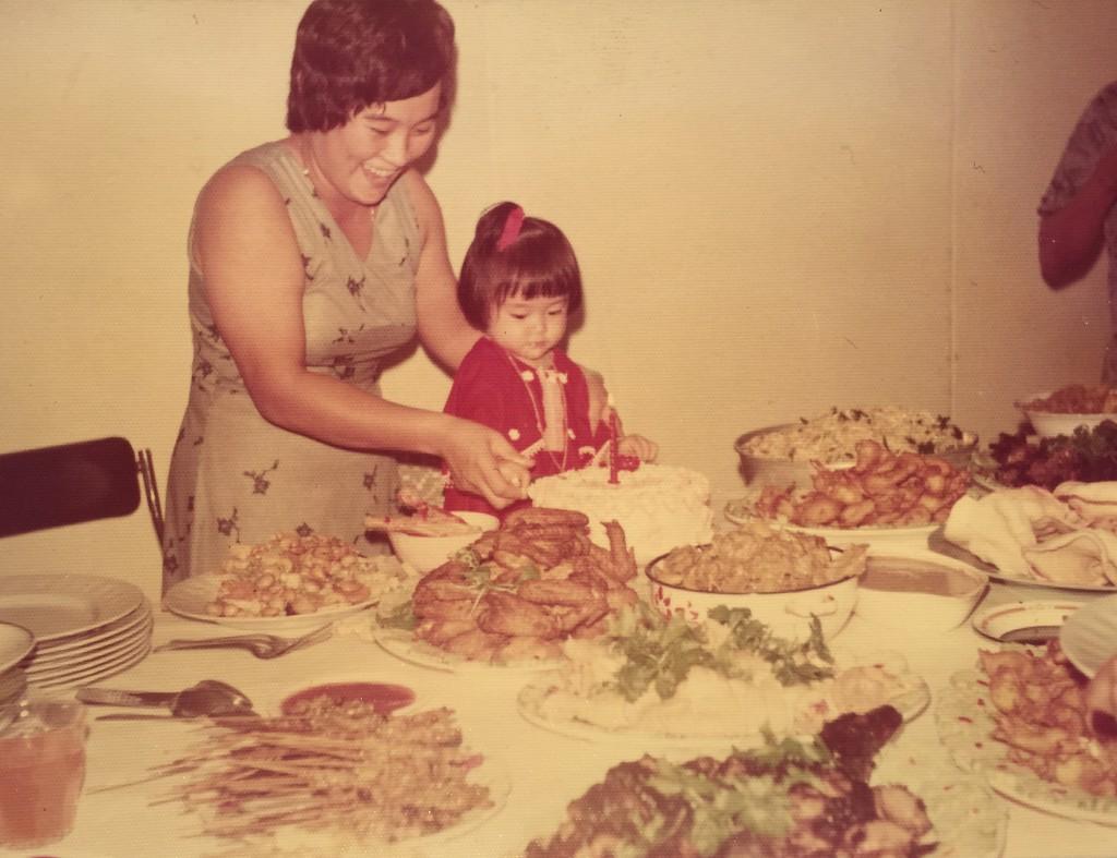 Me with my mama dearest