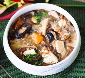 Rainbow Mushroom Red Rice Stew 360×330