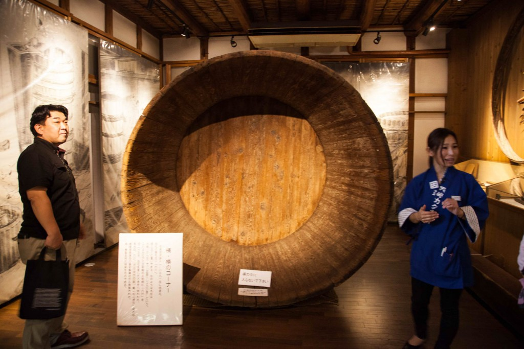 170 year old Hatcho miso vat