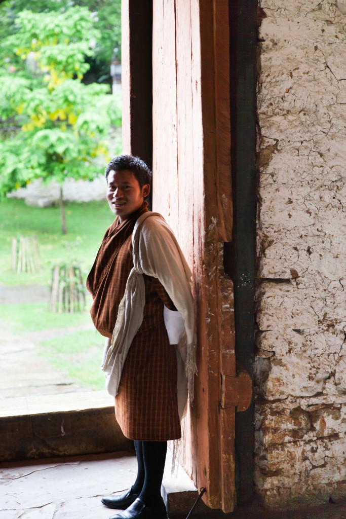 We were so impressed with Ugyen's knowledge of the history of the various Dzongs in Bhutan!
