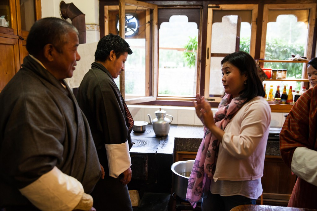 Dasho and I could talk for days about all things food. We are souper blessed to be able to learn from him and his wife!
