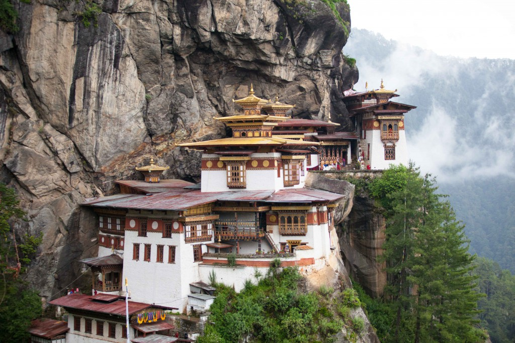 Tiger's Nest is perched some 3000m above sea level, precariously clinging on to granite ridges. It's a beauty, in and out.