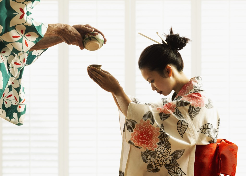 While largely modernised, many Japanese are still rooted in their traditions.
