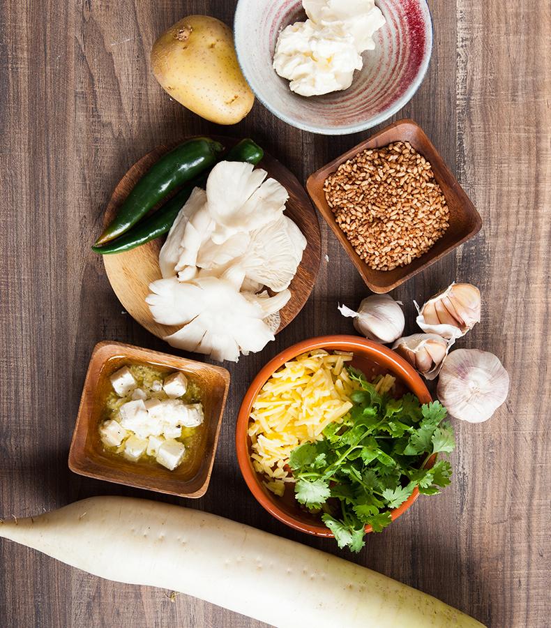 Ingredients used for KewaDatse