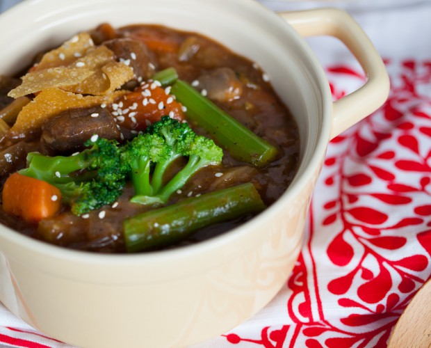 Prosperity Black Pepper Beef Stew