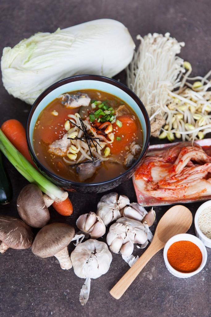 Barramundi Kimchi Jjigae