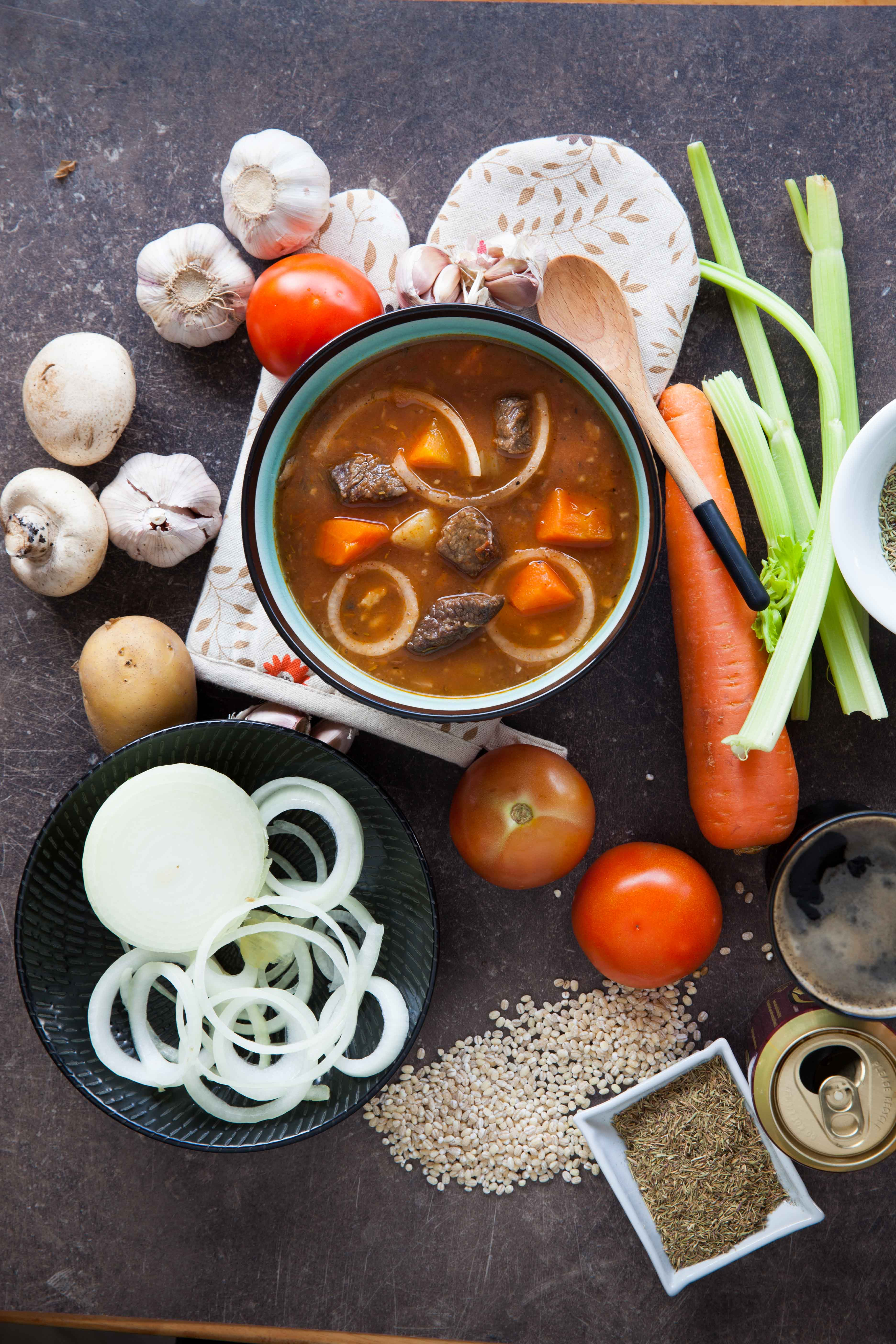 The Soup Spoon | Souperinspiration | Irish Beef Stew with stout