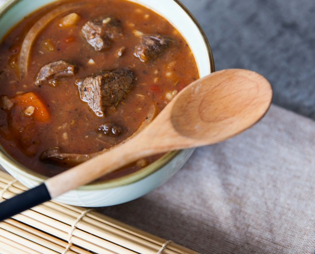 Irish beef stew with stout
