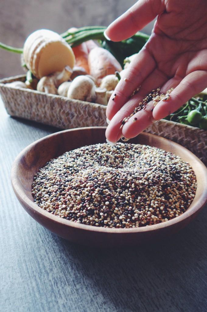 Supergrain quinoa