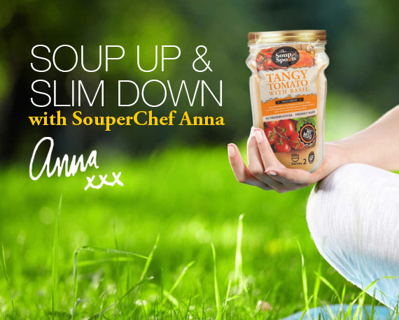 Soup Up and Slim down with Souperchef Anna