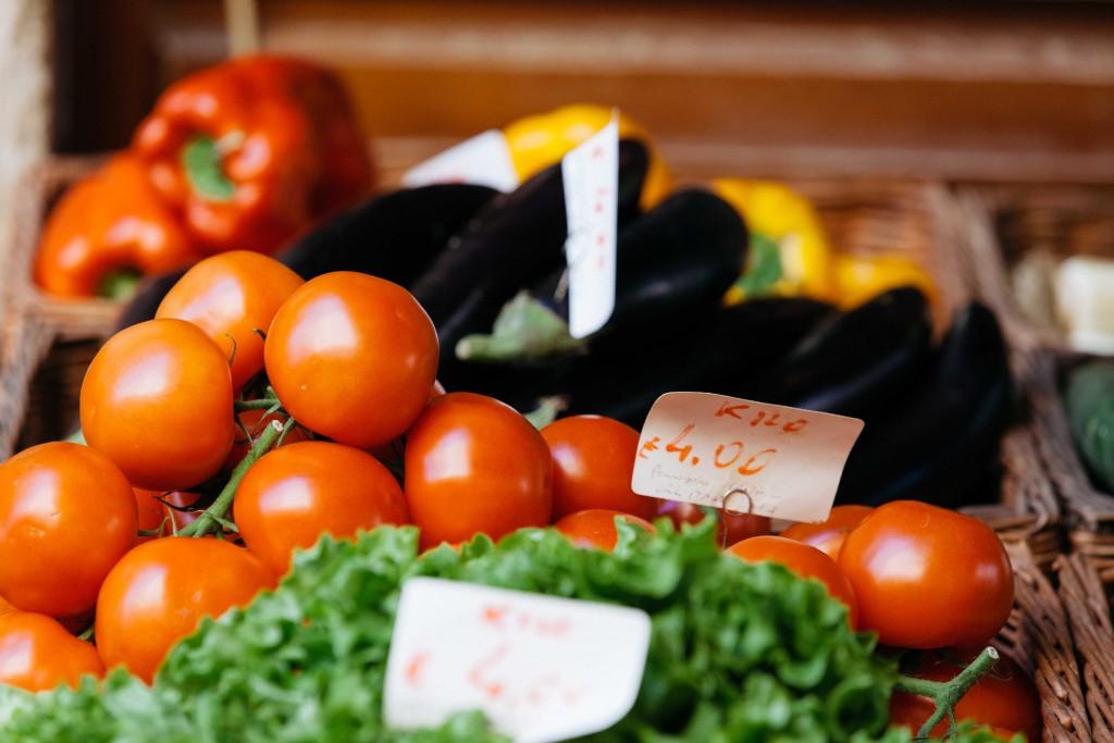 Market fresh produce