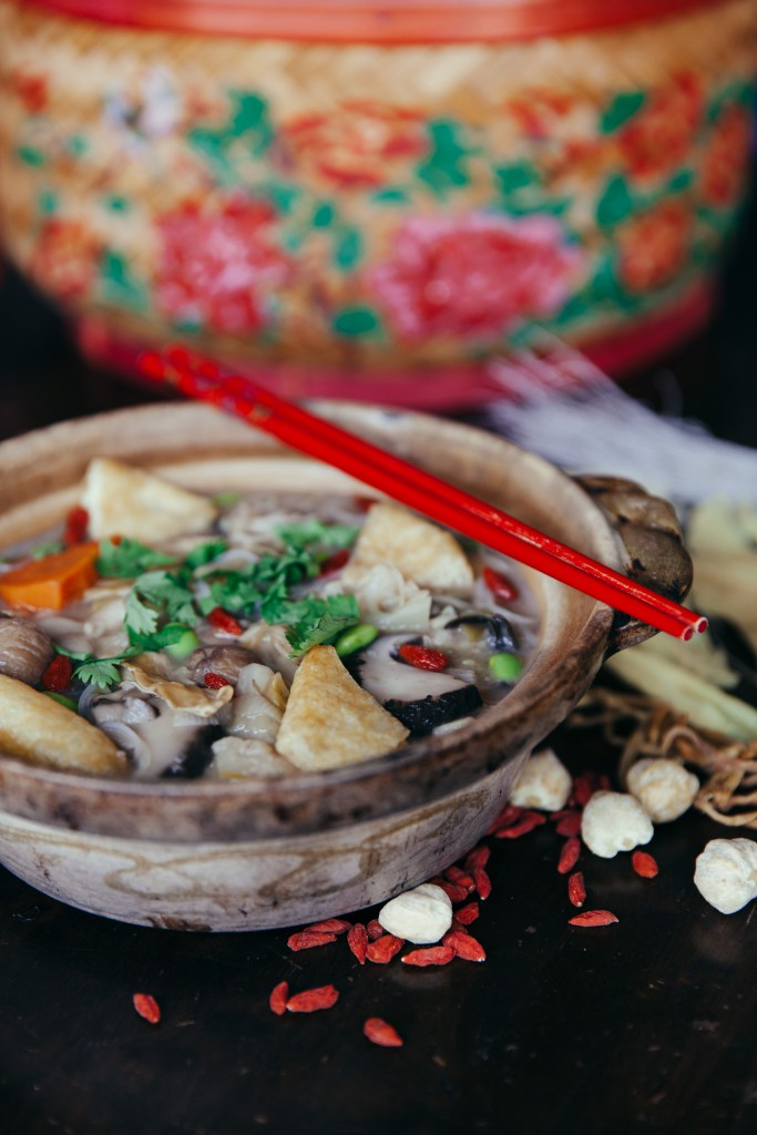Memories on the table   Vegan Chap Chye stew