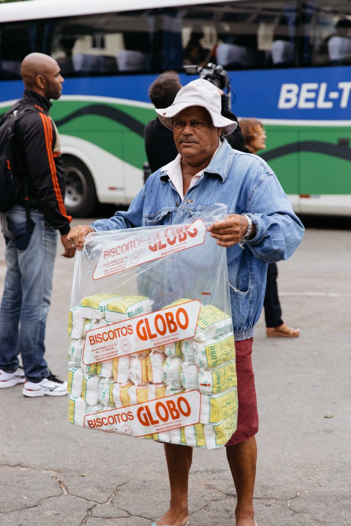 Globo brand tapioca snacks