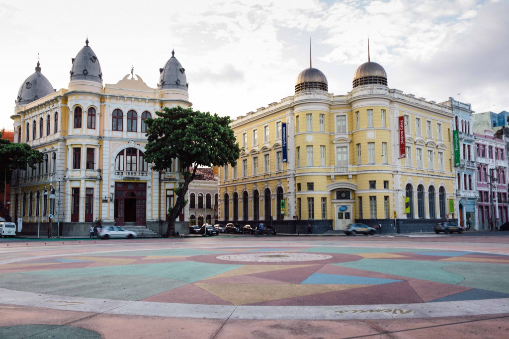 The buildings in Recife, a testimonial of its colonial past