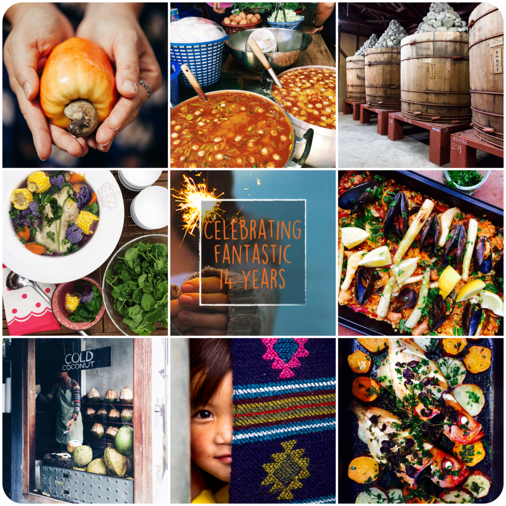 The World In One Kitchen, from our travels inspirations !