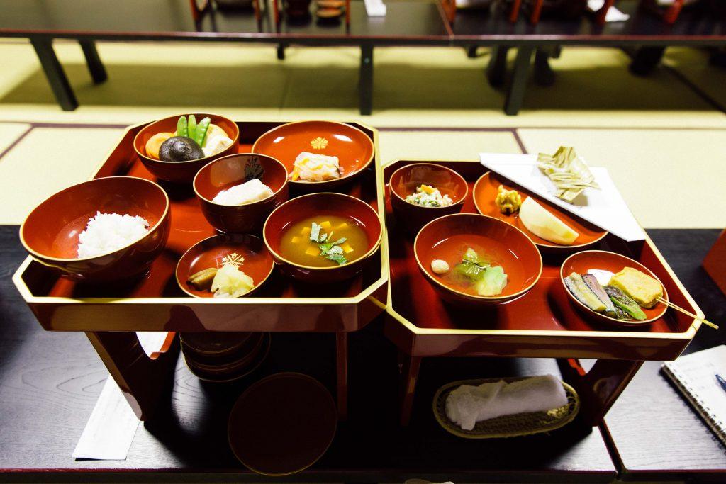 Remember the meal we had at Eiheiji Temple, Chubu region?