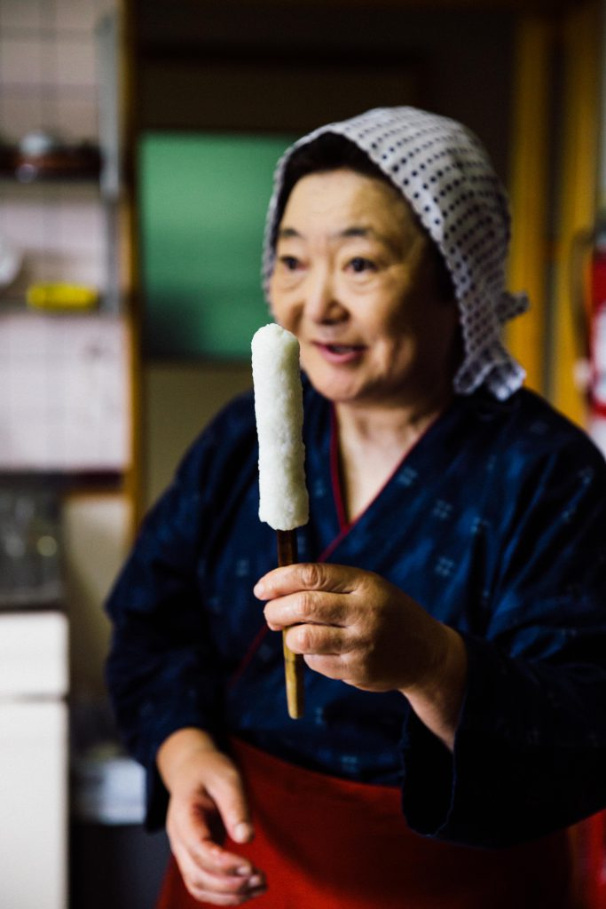 Taste Japan | Kiritanpo, Always Handmade