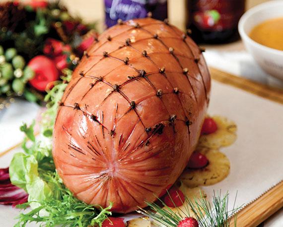 Delectable ham!