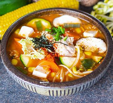 Kimchi Jjigae with Chicken 360X330