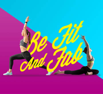 BE Fit & Fab Promo